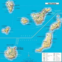 Острів тенерифе (канарський архіпелаг)