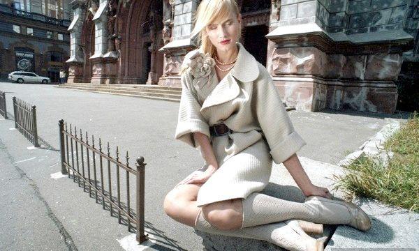 Пальто-кімоно: фото стильних образів