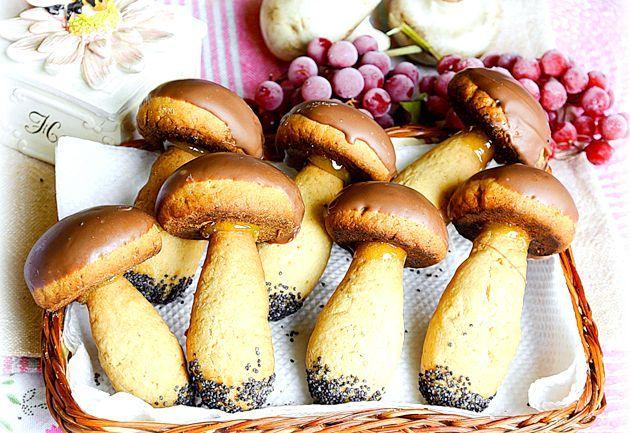 Печиво «грибочки»