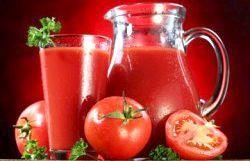 П'ємо томатний сік для схуднення