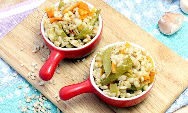 Перловка з овочами (пісний рецепт)