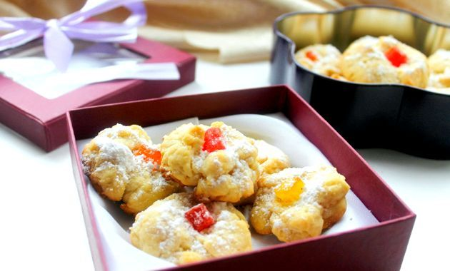 Пісочне печиво з цукатами