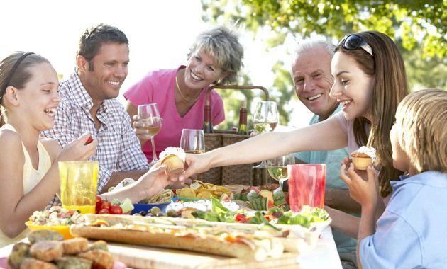 Пікнік на природі - меню для тих, хто на дієті