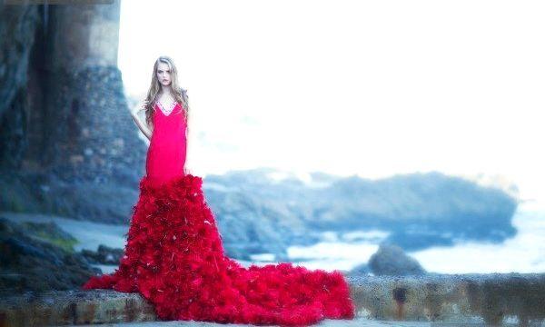 Плаття зі шлейфом (фото)