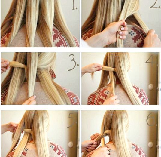 Плетіння коси з п'яти прядок: фото майстер-клас і схема