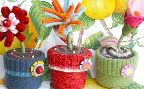 Подарунки своїми руками на 8 березня - горщик для квітів