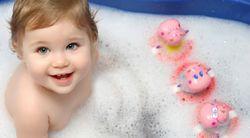 Корисне купання для малюка без проблем!