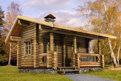 Переваги дерев'яної лазні з бруса