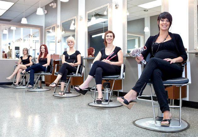 Зачіска на 8 березня - салон краси