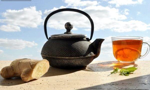 Приготування імбирного чаю для схуднення
