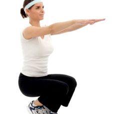 Присідання - ефективний спосіб схуднути