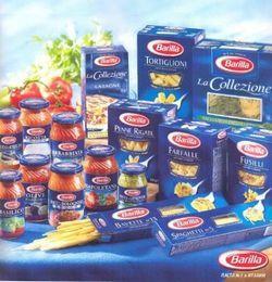 Продукти харчування з італії.
