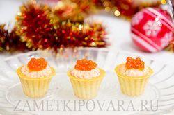 Рецепти святкових холодних закусок на 23 лютого