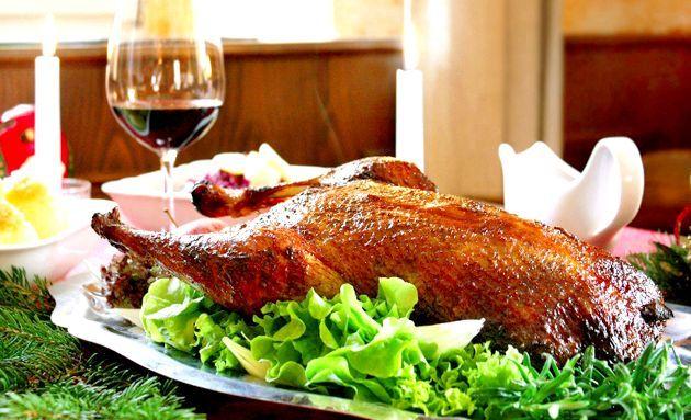 Різдвяний фарширований гусак - поради з приготування святкової страви