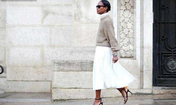 З чим носити біле плаття, штани, блузки?