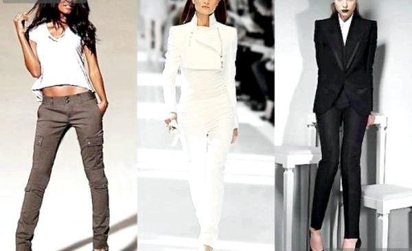 З чим носити брюки в 2013 році (модні образи) (фото)