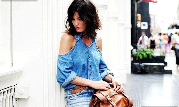 З чим носити джинсову сорочку?