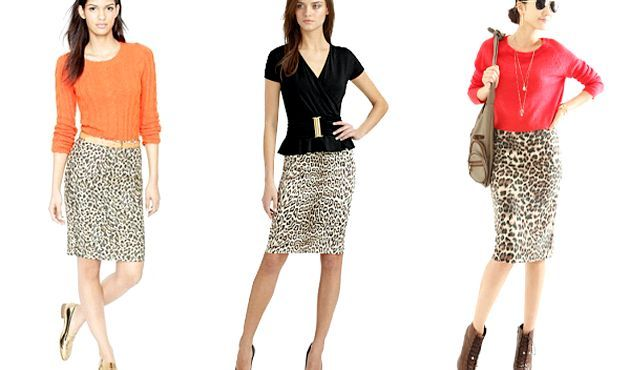 З чим носити леопардову спідницю