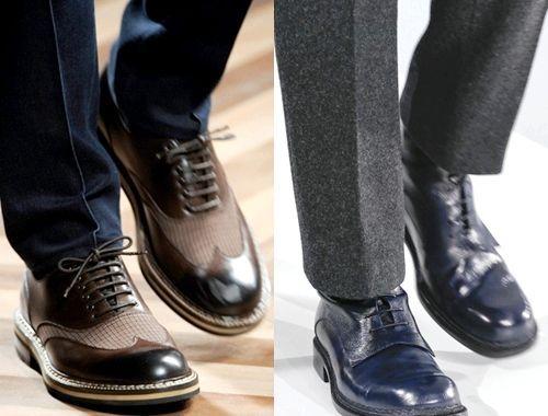 Наймодніша чоловіче взуття зима 2014, фото
