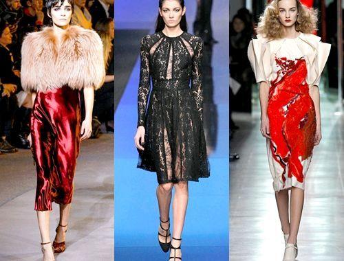 Наймодніші вечірні сукні зима 2014, фото