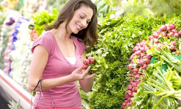 Самі низькокалорійні фрукти і овочі