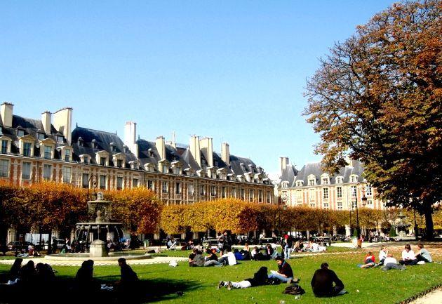Площа Вогезов (Place des Vosges)