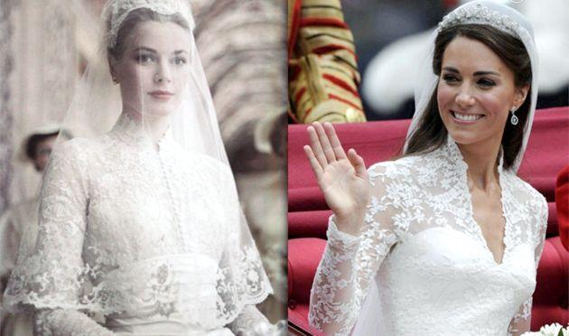 Самі шікарні весільні сукні знаменитостей