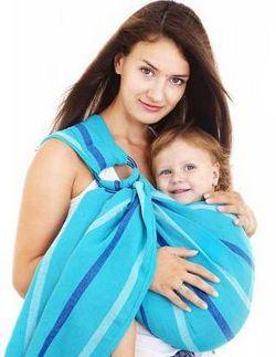 Слінг - кращий вибір для мами і малюка