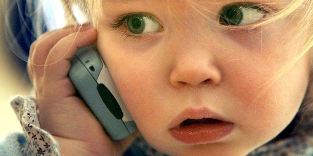 Стільниковий телефон для дитини