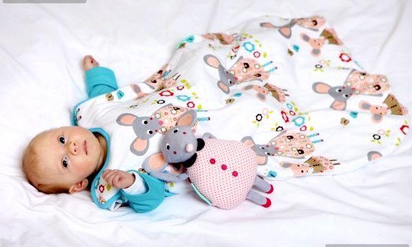 Спальні мішки для новонародженого