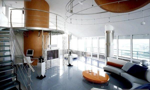 Стиль хайтек в інтер'єрі квартири (фото)