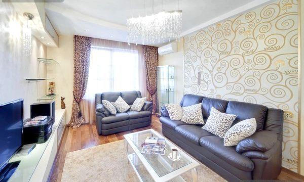 Стилі вітальні кімнати: огляд та фото