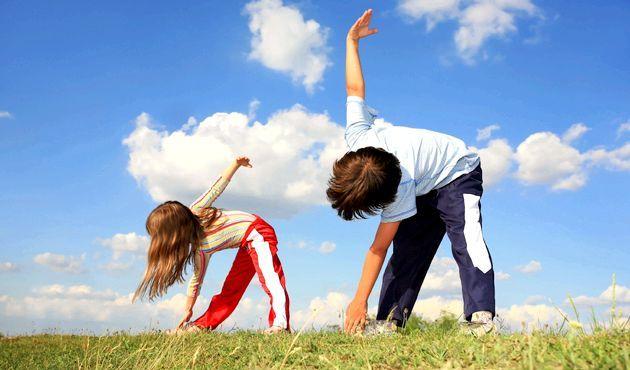 Стретчинг - фітнес-казка для дітей
