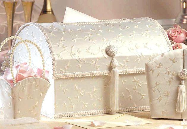 Скринька для грошей и весільні книги для побажань