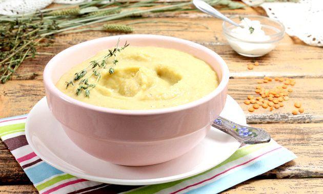 Суп-пюре з сочевиці