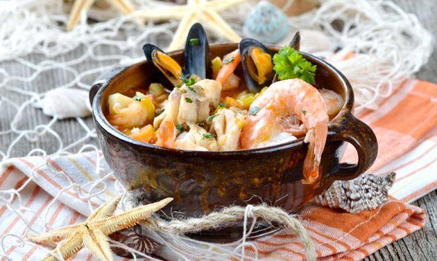 Суп з креветками: рецепти