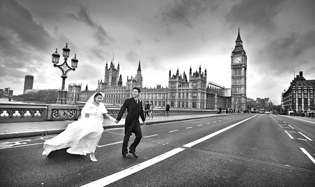 Весілля в Англии - унікальне торжество в консерватівній стране