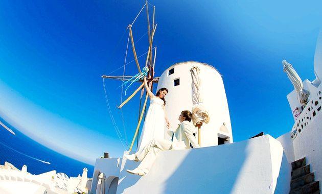 Весілля в Греції - казковий годину у жітті молодять!