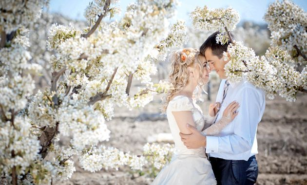 Весілля в березні