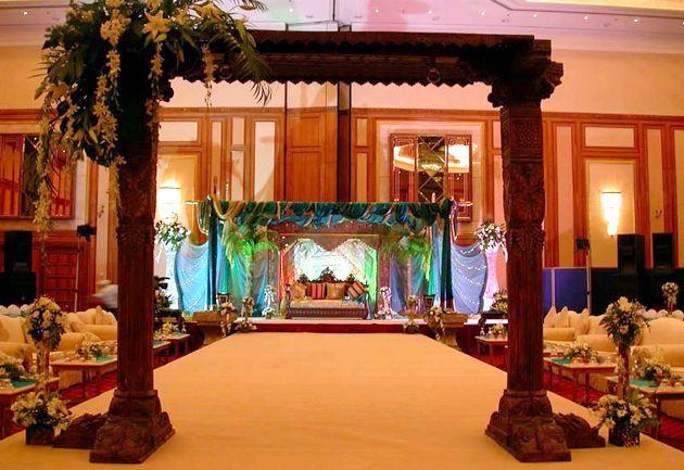 Весілля в стилі арабської відразу