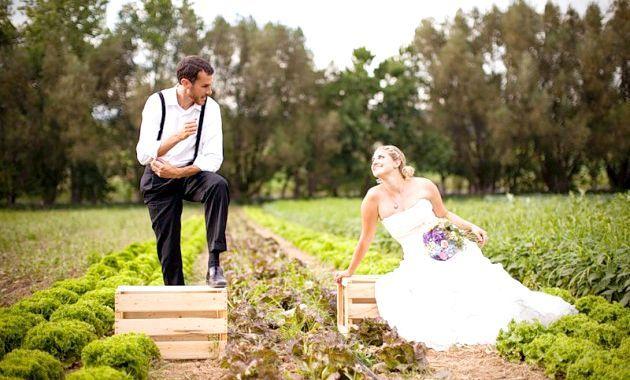 Весілля в стилі еко - новий тренд у весільній моді