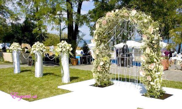 Квіткові весільні арки