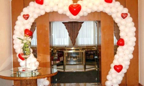 весільні арки з повітряних куль
