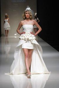 Весільні сукні довгі і короткі