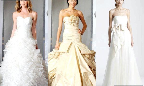 Весільні сукні: фото і стилі