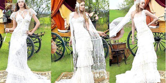 Весільні вінтажні сукні - модний тренд 2011