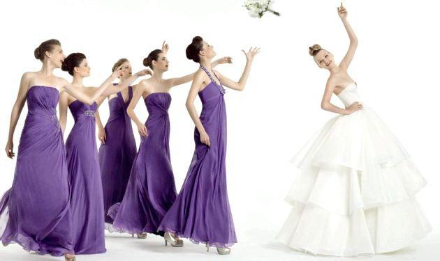 Весільний дрес-код для подружок нареченої