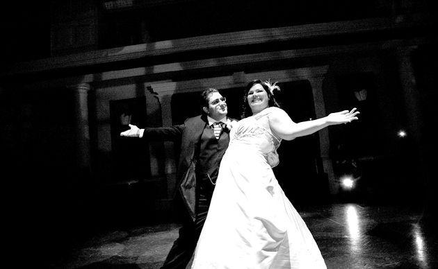 Весільний танець - як вібрато танцювальна студію?