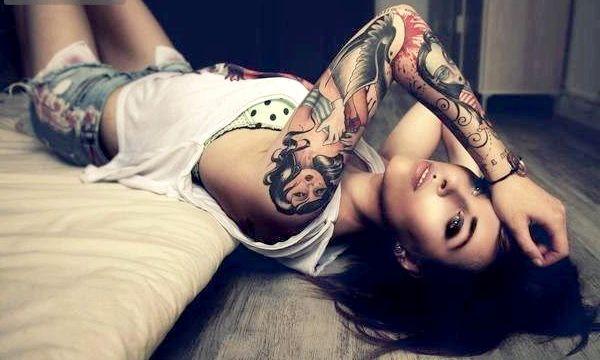Татуювання для дівчат на руці (фото)