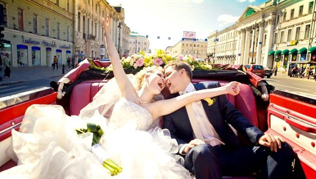 Традіційні звичаї російської весілля